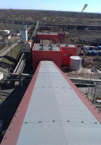 Střechy Elektrárna Prunéřov  I+II